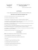 Quyết định 1431/QĐ-UBND năm 2013 tỉnh Bắc Kạn