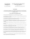 Quyết định 41/2013/QĐ-UBND tỉnh Bình Thuận