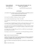 Quyết định 3122/QĐ-UBND năm 2013