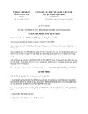 Quyết định 3121/QĐ-UBND năm 2013