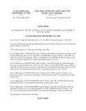 Quyết định 20/2013/QĐ-UBND thành phố Cần Thơ