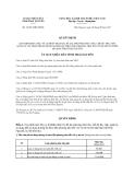 Quyết định 19/2013/QĐ-UBND tỉnh Thái Nguyên