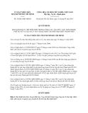 Quyết định 36/2013/QĐ-UBND thành phố Hồ Chí Minh