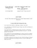 Quyết định 1637/QĐ-UBND năm 2013
