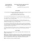 Quyết định 350/QĐ-UBND năm 2013