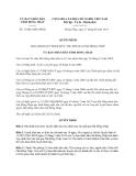 Quyết định 31/2013/QĐ-UBND Đồng Tháp