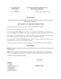 Quyết định 1142/QĐ-UBND năm 2013 tỉnh Yên Bái