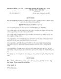 Quyết định 2985/QĐ-BGTVT năm 2013