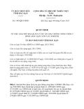 Quyết định 1443/QĐ-UBND năm 2013