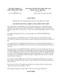 Quyết định 2135/QĐ-BNN-TCTL năm 2013