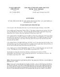 Quyết định 1215/QĐ-UBND năm 2013