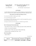 Quyết định 1457/QĐ-UBND năm 2013