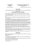 Quyết định 16/2013/QĐ-UBND tỉnh Cao Bằng