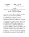 Quyết định 3263/QĐ-UBND năm 2013