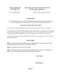 Quyết định 1539/QĐ-UBND năm 2013 tỉnh Phú Yên