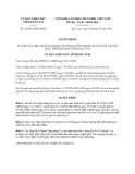 Quyết định 38/2013/QĐ-UBND tỉnh Kon Tum