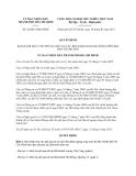 Quyết định 42/2013/QĐ-UBND Thành phố Hồ Chí Minh