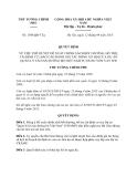 Quyết định 1594/QĐ-TTg năm 2013