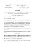 Quyết định 50/2013/QĐ-UBND tỉnh Long An