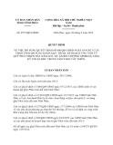 Quyết định 2577/QĐ-UBND bổ sung Quyết định 800/QĐ-UBND