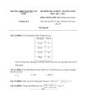 Đề kiểm tra 45 phút Toán 10 bài 6 (2012-2013) - THPT Nguyễn Văn Linh - Đề 2 (Kèm Đ.án)