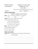 9 Đề KSCL Toán & Tiếng Việt 4 (2012-2013) - Trường TH Xuân Hương 1 - Tuần 1 đến tuần 9 (Kèm hướng dẫn chấm)