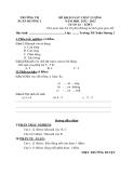 9 Đề KSCL Toán & Tiếng Việt 1 (2012-2013) - Trường TH Xuân Hương 1 - Tuần 14 đến tuần 22 (Kèm hướng dẫn chấm)