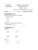 9 Đề KSCL Toán & Tiếng Việt 1 (2012-2013) - Trường TH Xuân Hương 1 - Tuần 5 đến tuần 13 (Kèm hướng dẫn chấm)