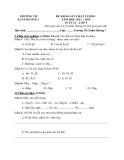 12 Đề KSCL Toán & Tiếng Việt 2 (2012-2013) - Trường TH Xuân Hương 1 - Tuần 13 đến tuần 24 (Kèm hướng dẫn chấm)