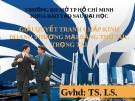 Thuyết trình: Giải quyết tranh chấp kinh doanh thương mại bằng thủ tục trọng tài