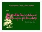 Bài giảng Bảo tồn đa dạng sinh học: Chương 1 - TS. Viên Ngọc Nam