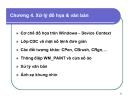 Bài giảng Lập trình Windows: Chương 4 - Xử lý đồ họa & văn bản