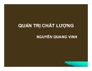 Bài giảng Quản trị chất lượng: Chương 1 - Nguyễn Quang Vinh