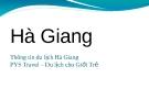 Thông tin du lịch Hà Giang