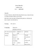 Bài Luyện từ và câu: Ôn luyện về nhân hóa - Giáo án Tiếng việt 3 - GV.Hoàng Thi Thơ