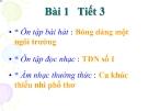 Bài giảng bài 1: Âm nhạc thường thức: Ca khúc thiếu nhi phổ thơ - Âm nhạc 9 - GV:T.K.Ngân