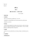 Giáo án Âm nhạc 9 bài 4: Học hát: Lý kéo chài