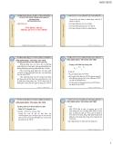 Bài giảng Ứng dụng Excel trong quản lý tài chính - ThS. Nguyễn Kim Nam