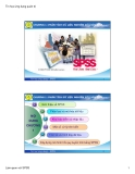 Bài giảng Phân tích dữ liệu nghiên cứu với SPSS