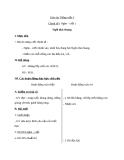 Giáo án bài Chính tả: Nghe, viết: Ngôi nhà chung - Tiếng việt 3 - GV.N.Tấn Tài