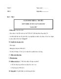 Giáo án Âm nhạc 6 bài 2: Tập đọc nhạc: TĐN số 3. ANTT: Nhạc sĩ Văn Cao và bài hát Làng tôi