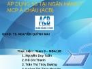 Thuyết trình: Áp dụng 5S tại ngân hàng TMCP Á Châu (ACB)