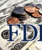 Đề án: Thực trạng việc thu hút vốn đầu tư nước ngoài tại Việt Nam