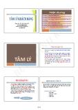 Bài giảng Tâm lý khách hàng - ThS. Bùi Thành Khoa