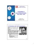 Bài giảng Kỹ nghệ máy tính: Chương 5 - Nguyễn Văn Thọ