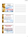 Bài giảng Các phương pháp nuôi cấy tế bào: Chương 2 - ThS. Nguyễn Thành Luân