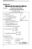 Toán ôn thi Đại học - Chuyên đề 7: Hình học giải tích trong mặt phẳng oxy