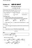 Toán ôn thi Đại học - Chuyên đề 1: Khảo sát hàm số