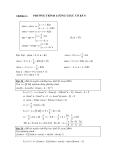 Toán lượng giác - Chương 2: Phương trình lượng giác cơ bản