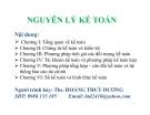Bài giảng Nguyên lý kế toán - Ths. Hoàng Thuỳ Dương